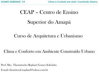 CEAP – Centro de Ensino  Superior do Amapá