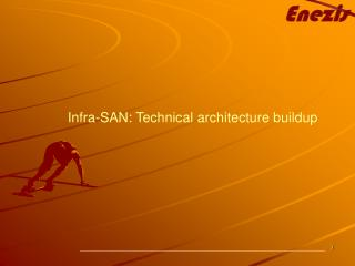 Infra-SAN: Technical architecture buildup