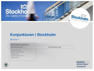 Konjunkturen i Stockholm