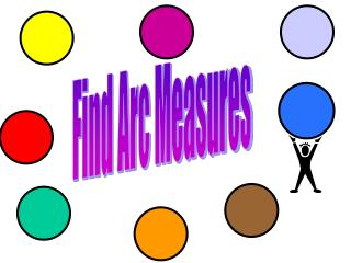 Find Arc Measures