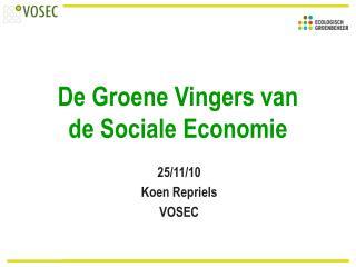 De Groene Vingers van  de Sociale Economie