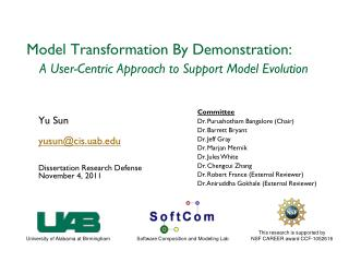 Model Transformation By Demonstration: A User-Centric Approach to Support Model Evolution
