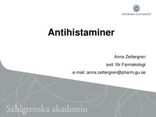 Antihistaminer