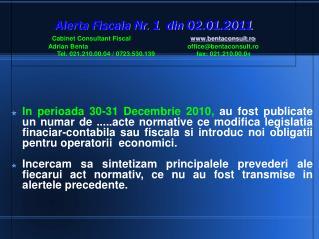 Acte normative publicate in 30-31 Decembrie 2010