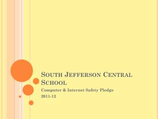 South Jefferson Central School