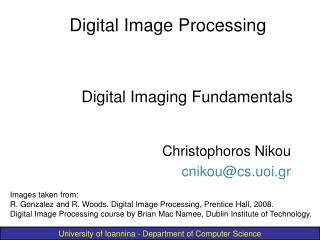 Digital Imaging Fundamentals