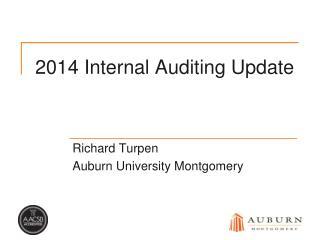 2014 Internal Auditing Update