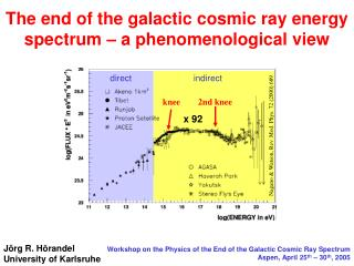 The end of the galactic cosmic ray energy spectrum – a phenomenological view