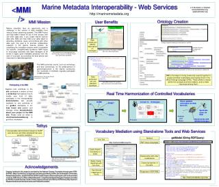 Marine Metadata Interoperability - Web Services