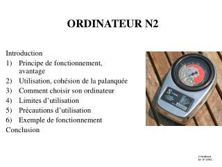 ORDINATEUR N2
