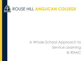 ROUSE HILL ANGLICAN COLLEGE