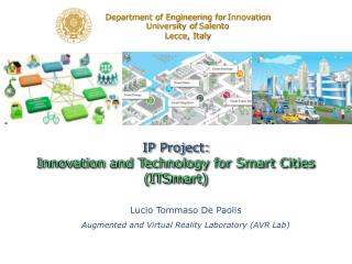IP Project: Innovation and Technology for Smart Cities ( ITSmart )