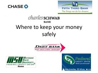 Where to keep your money safely