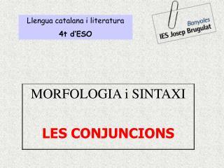 Llengua catalana i literatura 4t d ESO