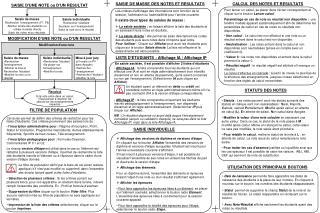 Affichage des versions de diplôme et versions d'étape