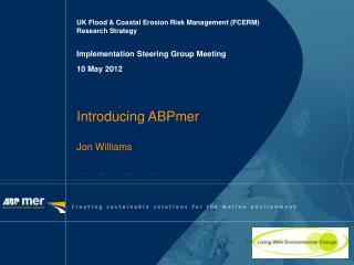 UK Flood & Coastal Erosion Risk Management (FCERM)  Research Strategy