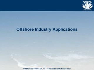 Offshore Industry Applications