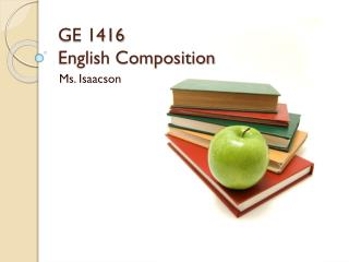 GE 1416 English Composition