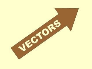 A vector is a quantity that has both magnitude and direction.  It is represented by an arrow.  The length of the vector
