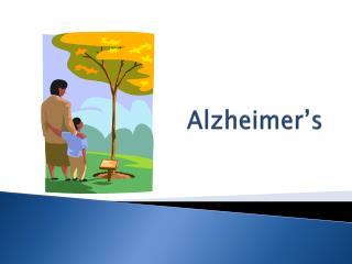 Alzheimer�s