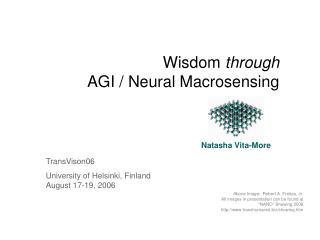 TransVison06 University of Helsinki, Finland August 17-19, 2006