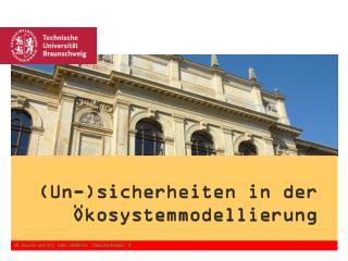 W. Durner und S.C. Iden, SS2012.   Unsicherheiten - 3