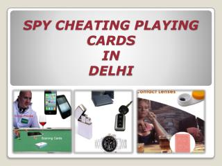 Exclusive Spy Cheating Playing Cards in Delhi (8376839094)