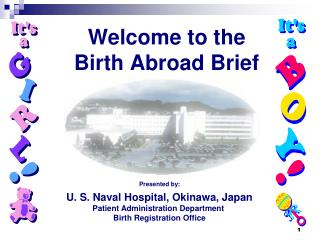 Welcome to the Birth Abroad Brief