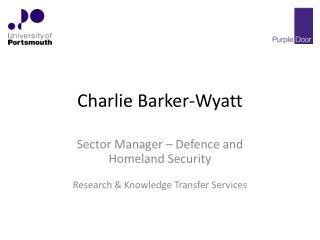 Charlie Barker-Wyatt