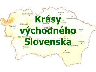 Kr�sy v�chodn�ho Slovenska