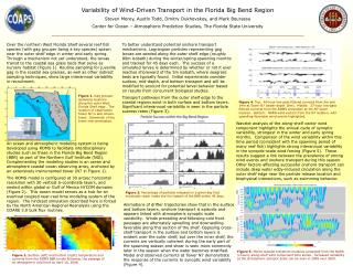 Variability of Wind-Driven Transport in the Florida Big Bend Region