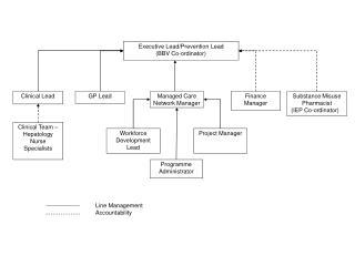 Executive Lead/Prevention Lead (BBV Co-ordinator)