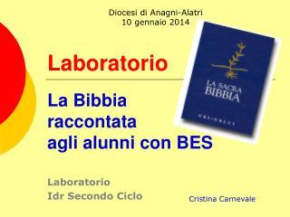 Laboratorio La Bibbia raccontata agli alunni con BES