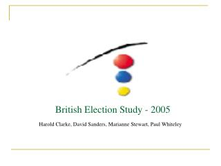 British Election Study - 2005