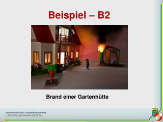 Beispiel – B2