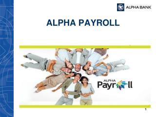 ALPHA PAYROLL