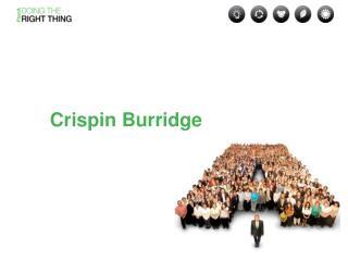 Crispin Burridge