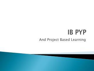 IB PYP