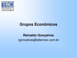 Grupos Econômicos