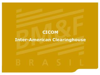 CICOM Inter-American Clearinghouse