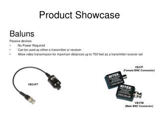 Product Showcase