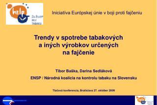 Iniciatíva Európskej únie v boji proti fajčeniu