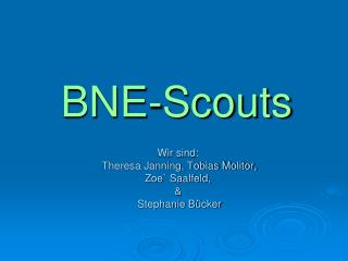 BNE-Scouts