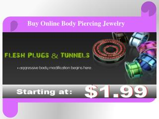 Buy Online Wholesale Body Piercing Jewelry