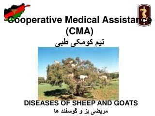 Cooperative Medical Assistance  (CMA)  تیم کومکی طبی