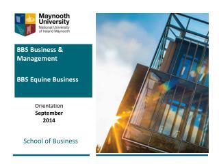 BBS Business & Management BBS Equine Business