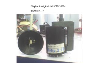 Flayback original del KXT-1089 BSH 8-N1-7