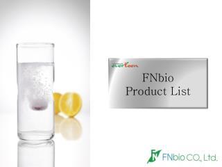 FNbio Product List