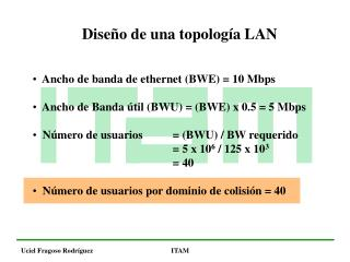 Diseño de una topología LAN