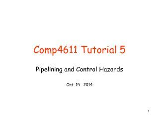 Comp4611 Tutorial 5